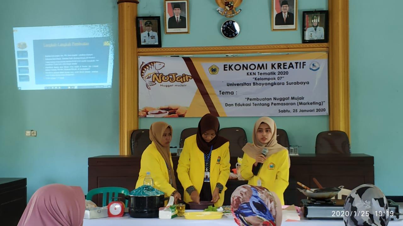 KKN Tematik Tahun 2020 kelompok 07 Universitas Bhayangkara Surabaya