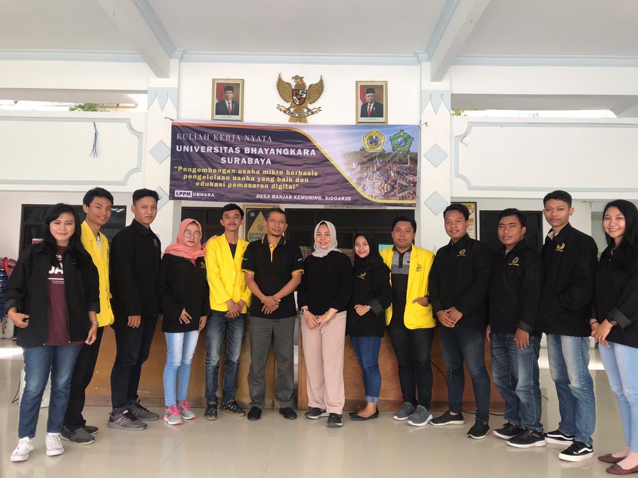 MONEV KKN Tematik Tahun 2020 kelompok 71 Universitas Bhayangkara Surabaya