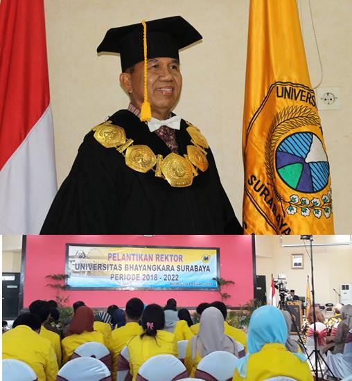 Pelantikan Rektor Universitas Bhayangkara (2018-2022)