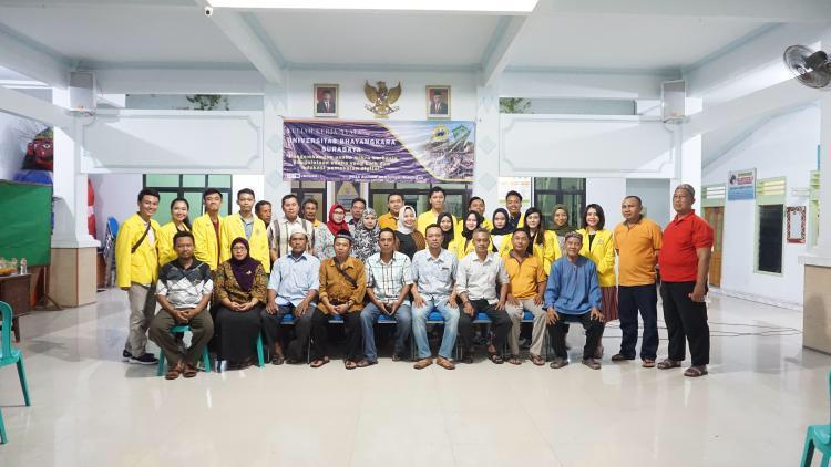 Pembukaan KKN Tematik Tahun 2020 kelompok 54 &71 Universitas Bhayangkara Surabaya
