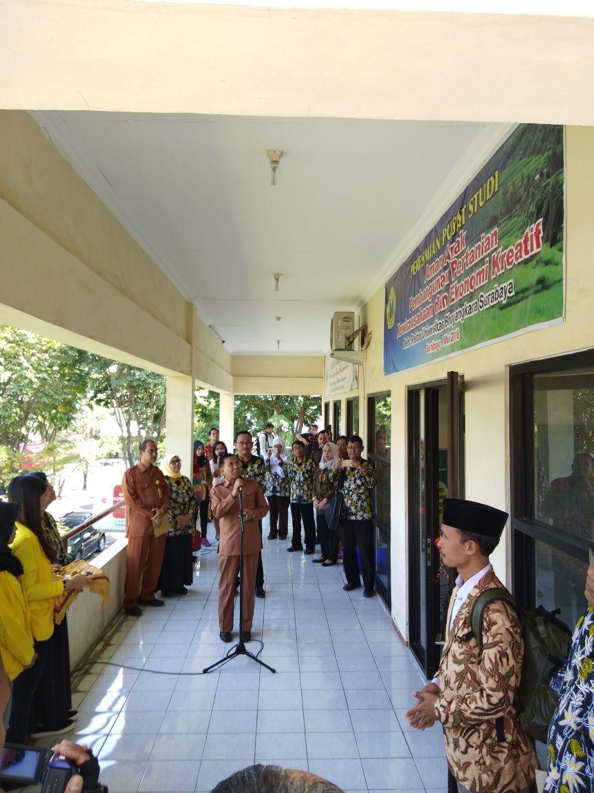 Peresmian Pusat Studi di Lingkungan Universitas Bhayangkara Surabaya