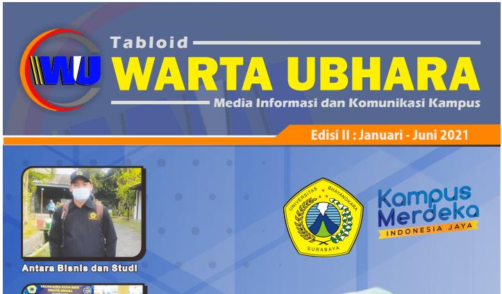 Tabloid Warta Ubhara Edisi Januari - Juni 2021