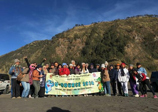 Tur ke Gunung Bromo Menjadi Puncak Acara U-SOURCE